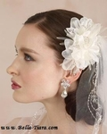 Hosanna - Beautiful Royal collection wedding hair flower - SALE