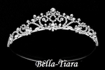 Isabella - Beautiful princess communion Crystal Tiara - SALE
