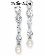 Jacqueline - CZ and Freshwater Pearl Beauty -- Great Price!!