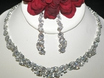 Janelle -  Dazzling Cubic Zirconia Bridal Necklace Set - Amazing Price!!
