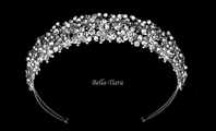 Jenna-Sparking rhinestone crystal wedding headband - ONE LEFT, SALE!!