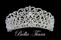 Jillian - Royal Collection - Gorgeous filigree Swarovski crystal tiara - SPECIAL!!
