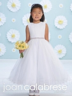 Joan Calabrese communion dress 116391 Size 10 READY TO SHIP-- FREE VEIL