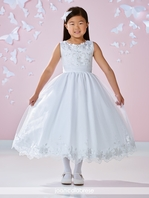 Joan Calabrese first communion dress 117360 - Size 8 READY TO SHIP - FREE VEIL