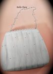 Julia - Beautiful organza communion purse