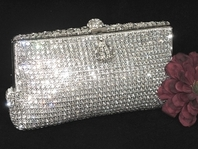 Julia- NEW!! Wholesale Stunning Swarovski Crystal Evening handbag - SALE