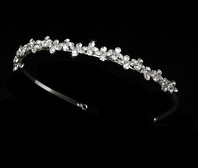 Kacy- Beautiful marquise cut CZ Headband - SALE!!