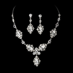 Kaleena - BEAUTIFUL vintage rhinestone necklace set  -  SALE!!