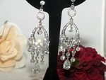 Karmine - Breathtaking crystal chandelier Earrings - SPECIAL