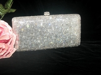 Kathleen - GORGEOUS Dazzling Swarovski crystal evening purse - GREAT PRICE!!