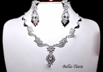 Kendra - Royal cz bridal necklace set - SPECIAL - ONE LEFT