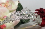 Kimberly- Beautiful Filigree Romantic Princess Tiara - SPECIAL
