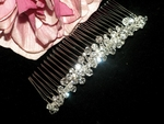 Ladonna - Dazzling and elegant swarovski crystal side comb - SALE