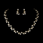 Lauren- Sparkle Gold necklace set