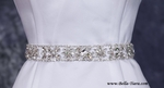 Laurie -- Luxurious Swarvoski rhinestone bridal sash, belt - SALE