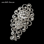 Leah - GORGEOUS Swarovski Crystal Couture bridal comb - SALE!!!