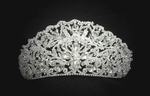 Letizia - ROYAL COLLECTION - STUNNING!!! Swarovski crystal crown tiara