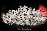 Letizia - ROYAL COLLECTION - STUNNING!!! Swarovski crystal crown tiara - SPECIAL a few left