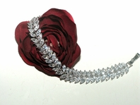 Liana - Gorgeous Cubic Zirconia wedding bracelet - SALE