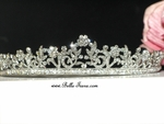 Liana - Italian collection  - Beautiful swarovski crystal communion tiara - SPECIAL - Back in stock
