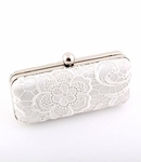 Lora - Romantic vintage lace bridal purse - SALE!!!