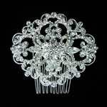 Lorraine - NEW! HOT Gorgeous vintage crystal bridal hair comb - SPECIAL- BACK IN STOCK