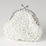 LouisaMay- White Pearl, Sequin & Rhinestone  - SALE