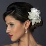 Lovely elegant wedding flower hair clip - SPECIAL!!