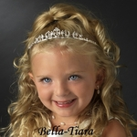 Lovely rhinestone crystal communion tiara - SPECIAL one left