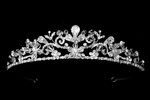 Lovely swarovski crystal wedding tiara - SPECIAL