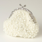 LuisaMay - Glamorous pearl vintage wedding purse - SALE