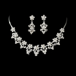 Luna - Victorian collar style bridal wedding necklace set - SALE!!