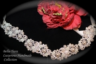 Luxurious Collection - Gorgeous Swarovski crystal pearl wedding headband - SALE