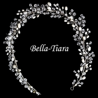 Luxurious Collection - Swarovski crystal freshwater pearl bridal hair vine headband - sale
