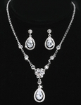 Madison - BEST SELLER!! Elegant rhinestone drop necklace set - SPECIAL