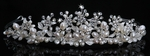 Madonna - Gorgeous freshwater pearl and crystal wedding Tiara - SPECIAL