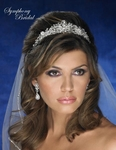Maia - NEW!! Superb crystal bridal crown tiara - SALE!!