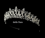 Majestic Queen filigree Crown rhinestone tiara - SALE!!