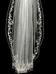MariaAntoniette- Royal Collection - High-end Crystal edge Cathedral veil - Amazing Price