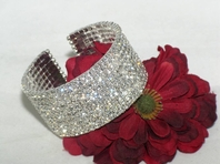 Marianna - NEW!! HOT GORGEOUS  rhinestone cuff Bracelet - SALE!! a few left