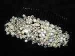 Marianna - STUNNING Royal Collection Swarovski crystal wedding comb - SALE