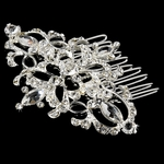 Marissa-Gorgeous Vintage-inspired wedding crystal hair comb