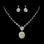 Marta - Gorgeous vintage-inspired rhinestone necklace set - SPECIAL
