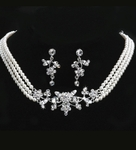 Martina - Beautiful vintage pearl necklace set - SALE
