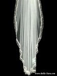 MaryElizabeth - NEW!! Royal collection- EXQUISITE Swarovski crystal wedding veil - SALE