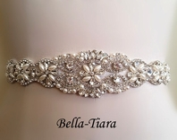 MaryKate - Beautiful crystal pearl wedding belt - SALE