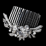 Mattea - Beautiful vintage pearl wedding hair comb - SPECIAL