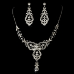 Meadow-Vintage Inspired bridal necklace set - SALE!!