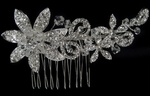 Melanie - Gorgeous new crystal bridal hair comb - sale!!