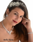 Melba - Royal Collection - Spectacular Swarovski crystal headband - SALE